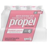 Propel Water 草莓柠檬水口味无糖电解质水500ml 12瓶
