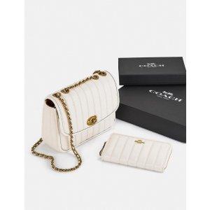 CoachMadison Shoulder Bag & Accordion Zip Wallet
