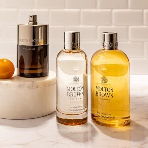 8折 $39收8件超值礼盒Molton Brown 英国皇家御用沙龙香 收沐浴超值礼盒 香橙佛手柑