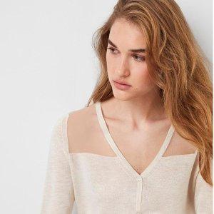 低至5折 上衣$34上新:French Connection 折扣区美衣热卖 连衣裙$74起