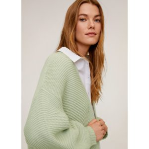 MangoPurl knit cardigan - Women | Mango USA