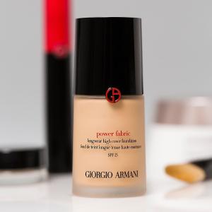 $54.4(原价$64)最后一天:Giorgio Armani Beauty官网 Power Fabric粉底8.5折热卖