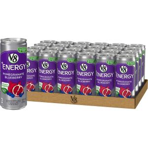 $10.47V8 +Energy Natural Energy from Tea, Pomegranate Blueberry, 8oz (Pack of 24)