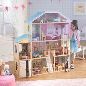 KidKraft Majestic Mansion Dollhouse with Furniture @ Amazon