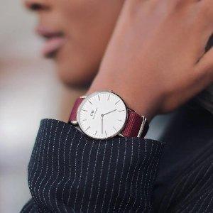 6.6折 $154.25(原价$235)手慢无:Daniel Wellington 经典Roselyn 36mm手表