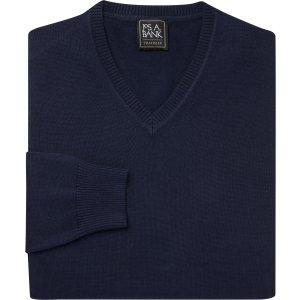 买1送2V领毛衣