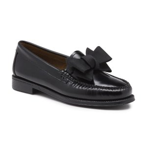 G.H. Bass & Co.JILLIAN BOW LOAFER WITH RUBBER SOLE