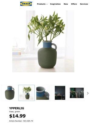 YPPERLIG Vase - IKEA