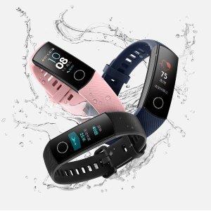 $27.99 50米防水 3色可选华为 荣耀手环4 智能运动手环 带心率监测 多种运动模式