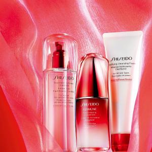 9折Shiseido 美容护肤品热卖 收红腰子套装最划算