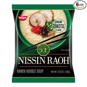 Nissin 日清拉王 猪骨浓汤拉面热卖 3种口味