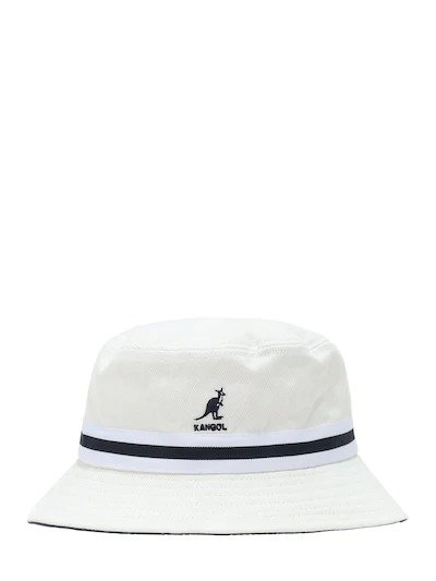 白色渔夫帽