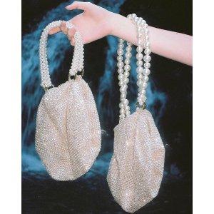 Shu 闪片珍珠手提包