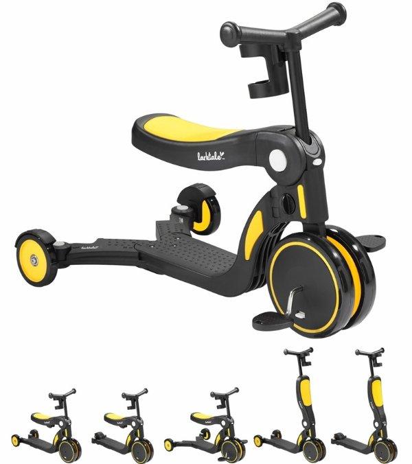 Scoobi 5合1踏板车 黄色
