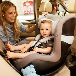 低至6.4折限今天:CYBEX 精选款婴幼儿汽车安全座椅超值收