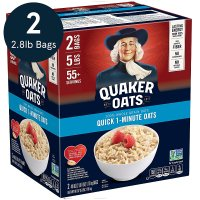 QUAKER 速溶早餐燕麦片 40oz 两包
