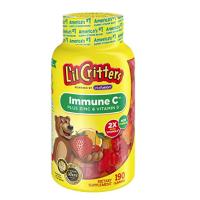 Lil critters 免疫C+锌+紫雏菊 190粒
