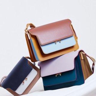 风琴包mini到手¥10625 包税直邮中国Marni 精选新款风琴包、凉鞋、衣服8.5折热卖