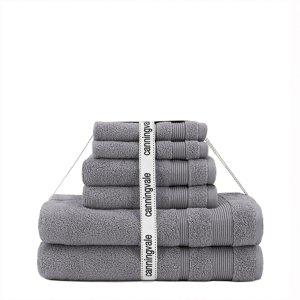 Canningvale浴巾6件套