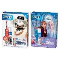 Oral-B 儿童电动牙刷+牙膏套装,2种主题选