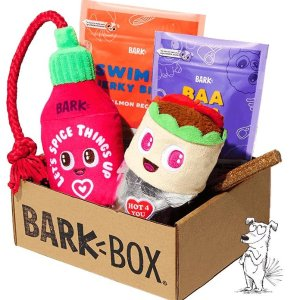 Free Gnawty Dice ToyBarkBox 6 or 12 Month Subscription