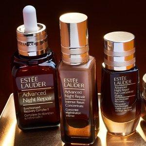 Estee Lauder 买小棕瓶精华送正装眼部精华(价值$69)