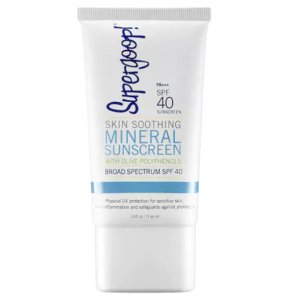 Skin Soothing Mineral Sunscreen Broad Spectrum SPF 40 - Supergoop! | Sephora