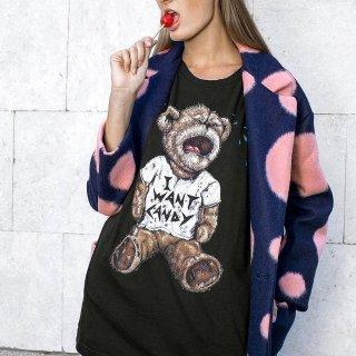 低至6折 叛逆长发公主T恤$61收提前享:Domrebel 大牌趣味T恤 黑暗童话