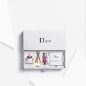 薅羊毛!买就送封面套装!Dior迪奥薅羊毛!任意单送香水套装(含MissDior等)+2小样!