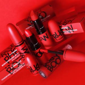无门槛8折!£15收新品唇釉MAC 新品上市!抢经典正红色Ruby Woo唇釉,口红!