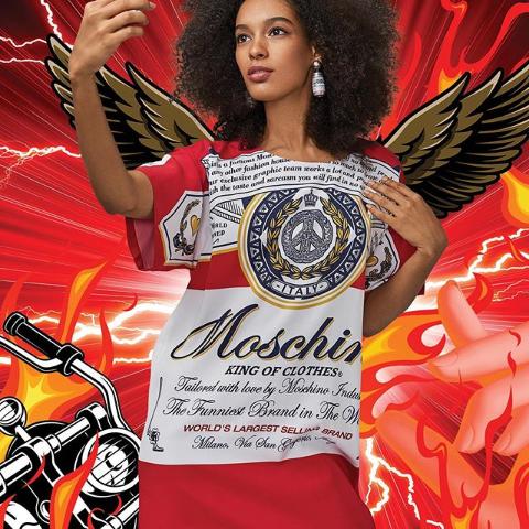 限时满额免运费上新:Moschino X 百威联名上市 最具时髦感的胶囊系列