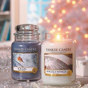 低至5.6折 £13.99入超大容量Yankee 香氛蜡烛 浪漫秋冬仪式感 提升生活品质 入明星同款
