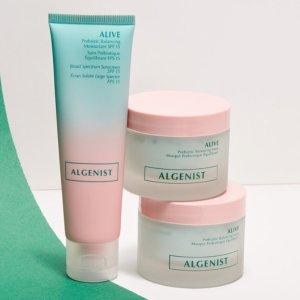 $29.97 (原价$78)Algenist 排毒防护面膜面霜2件套 天后都用的护肤品牌