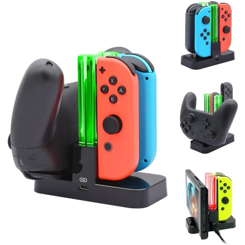 FastSnail Controller Charger Compatible with Nintendo Switch