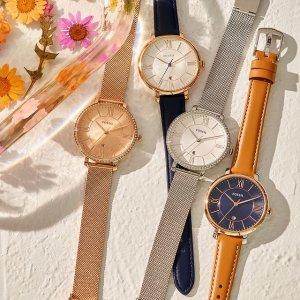 变相1.8折! €66收绿水鬼平替限今天:Fossil官网 超惊喜大促 时尚腕表热卖 不得不入的高颜值手表