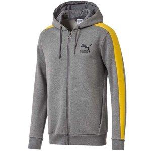 $24.99起(原价$60)+包邮Puma T7 经典款男士休闲运动拉链卫衣促销