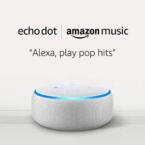 Amazon砂石白 Echo Dot 3代智能音箱 + 1个月Amazon Music Unlimited
