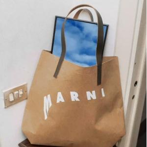 低至4折 史低€135收封面托特Marni 新款强势闪促  娜比、周雨彤都在背的经典王