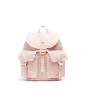 Herschel粉色双肩包