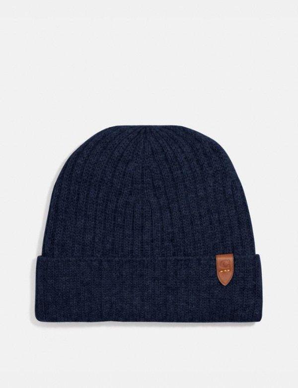 羊绒针织帽