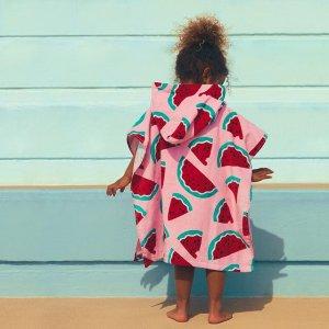 6折起 $6收游泳圈Indigo Kids 儿童沙滩系列  收配套沙滩巾+帆布包