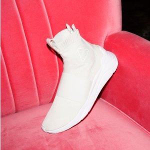 2018 时髦舒适高B格袜靴上线金属新色上新:McQ by Alexander McQueen 官网  白色码全