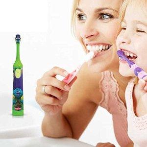 低至$4.59Oral-B 电动牙刷+刷牙计时器APP、儿童牙刷特卖