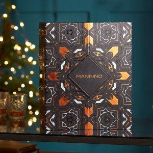 售价€116.45(价值€418+)Mankind 圣诞日历惊喜降临 为男神打造的炫酷圣诞礼物