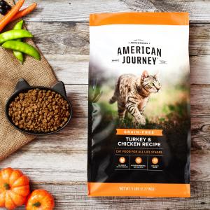 首单买1送1 + 订阅9折American Journey 猫咪干粮及罐头促销