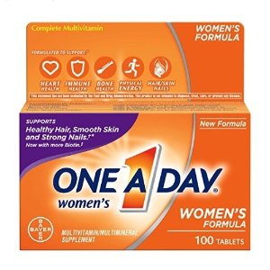 $5.18One-A-Day Women's Multivitamin Tablets, 100 Count