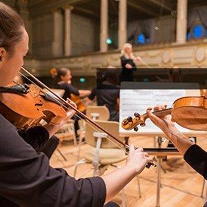 $88.70包邮 (原价$141.65)RockJam 入门级小提琴+乐谱架套装 论音乐细胞的养成