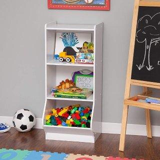 $22.04IRIS 3-Tier Storage Organizer Shelf with Footboard, White @ Amazon