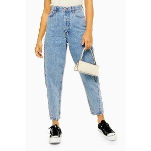 浅蓝色牛仔裤