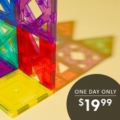 Today Only: 42-Piece Artistry Magnet Building Set